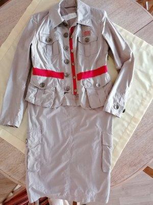 Airfield Ladies' Suit beige-red