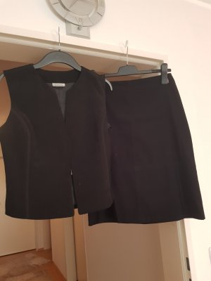 kostüm schwarz velours