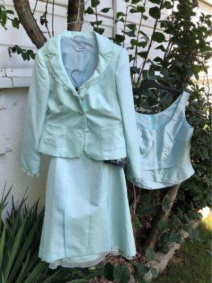 Vera Mont Corsagejurk lichtblauw-babyblauw