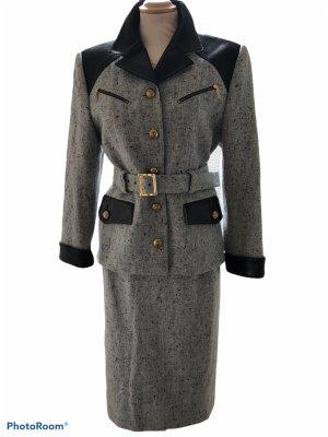 Guy Laroche Vestito di lana grigio scuro