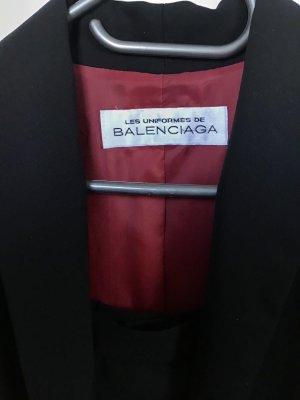 Balenciaga Tailleur nero-bordeaux