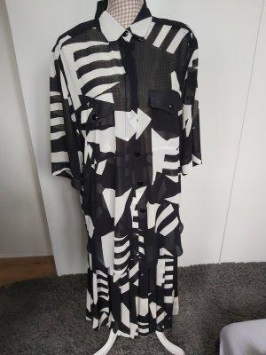 Kostüm von Pierre Castelle schwarz/weiß Größe 44