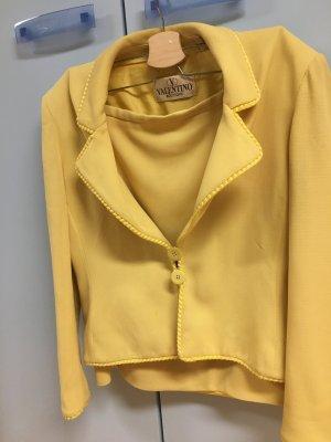 Valentino Boutique Damespak geel Wol