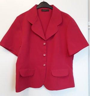 Chaqueta tipo blusa rojo ladrillo Poliéster