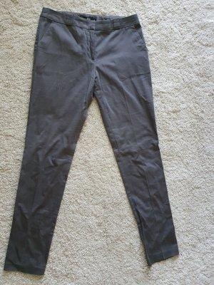 Pantalon fuselé gris foncé