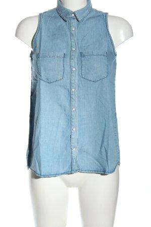 Koton ärmellose Bluse blau Casual-Look