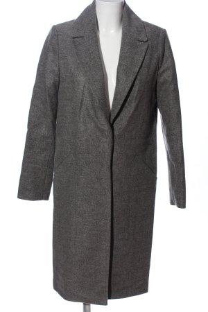 Koton Cappotto lungo fino a terra grigio chiaro puntinato stile professionale