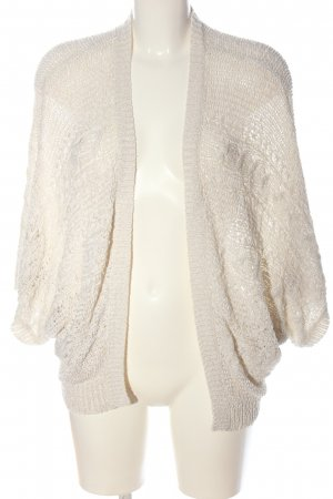 Koton Cardigan natural white cable stitch casual look