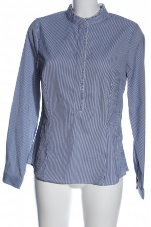 Koton Hemd-Bluse weiß-blau Streifenmuster Casual-Look