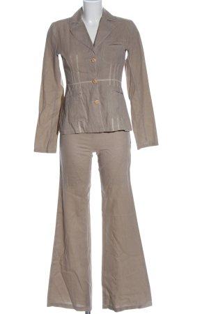 Koton Tailleur-pantalon brun style classique
