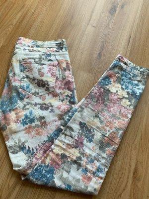 Koton Pantalone a vita bassa multicolore