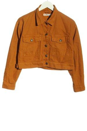 Koton Denim Jacket light orange casual look