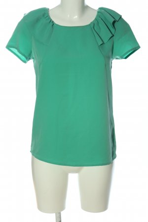 Koton Kurzarm-Bluse grün Casual-Look