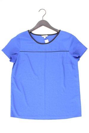 Koton Short Sleeved Blouse blue-neon blue-dark blue-azure polyester
