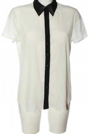 Koton Short Sleeve Shirt white-black casual look