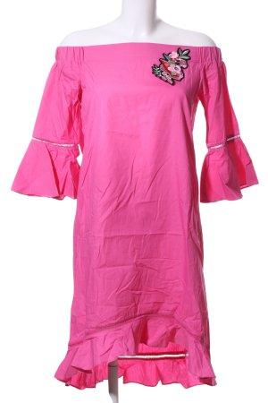 Koton Kurzarmkleid pink Elegant
