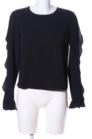 Koton Langarm-Bluse schwarz Casual-Look