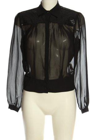 Koton Camicia a maniche lunghe nero stile professionale