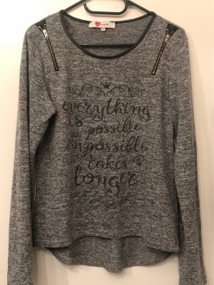 Koton Fine Knit Jumper grey