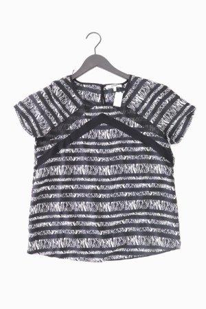 Koton Shirt schwarz Tierdruck Größe 36