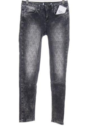 Koton Skinny Jeans grau-taupe Casual-Look