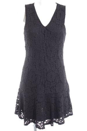 Koton Spitzenkleid schwarz Elegant