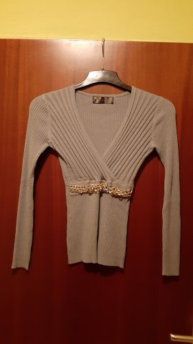 Sweater Twin Set light grey