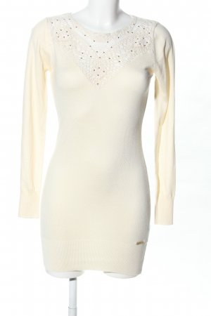 Koucla Strickkleid creme Casual-Look