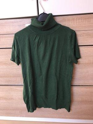 H&M Camisa de cuello de tortuga verde bosque-verde