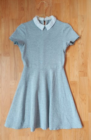 Tally Weijl Polo Dress light grey-grey