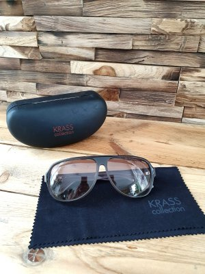 KRASS Oval Sunglasses black