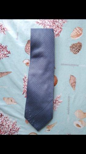 Cravate ascot bleu clair-bleu