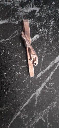 Krawattennadel springender Jaguar 925 Silber