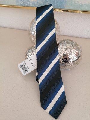 Olymp Casual Cravat black-blue