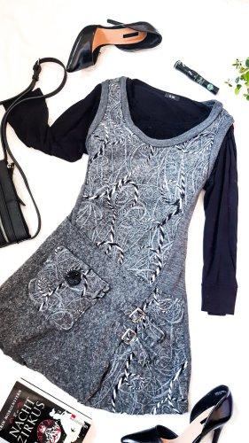 DESIGNER'S Vestito di lana multicolore