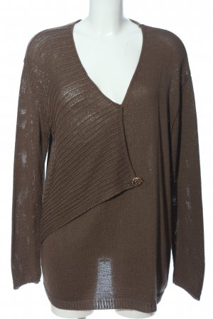 kremer Jersey kimono marrón look casual