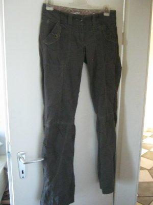 edc Jeansy z prostymi nogawkami khaki