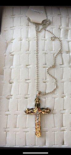Collar color plata-color oro