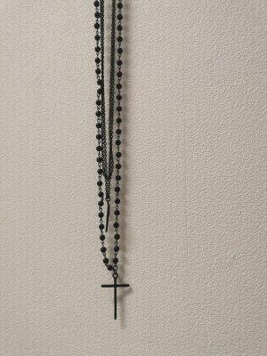 Kreuz Halskette Rosenkranz
