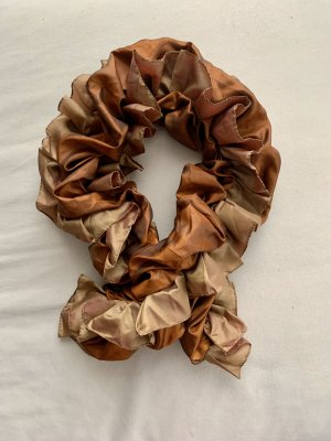 Crinkle Scarf multicolored polyester