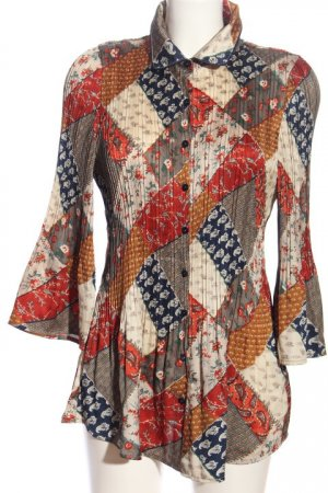 KRISS Hemd-Bluse Mustermix Casual-Look