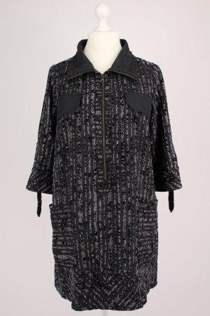Kriss Kleid mit Reißverschluss grau Größe M