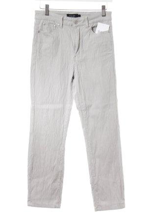 KRISS Slim Jeans hellgrau Animalmuster Casual-Look