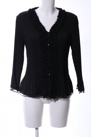 Kriss Sweden Blusa estilo Crash negro look casual