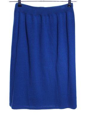 Kriss Sweden Jupe tricotée bleu style décontracté