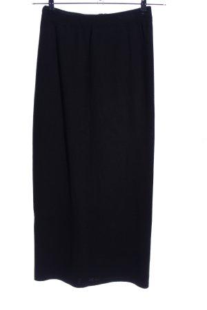 Kriss Sweden Knitted Skirt black business style