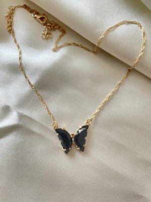 Złoty łańcuch złoto-czarny
