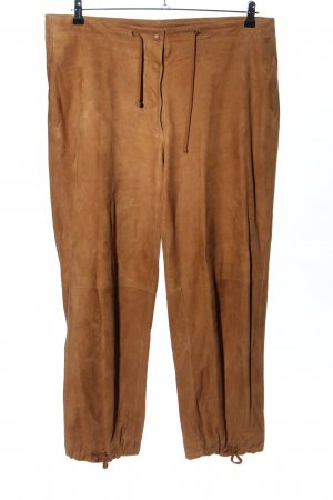 Krizia Baggy Pants bronzefarben Casual-Look