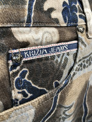 Krizia Jeans - markantes Muster