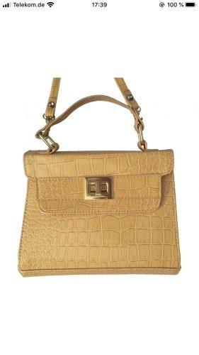 Kroko Crossbody Handtasche / Minibag - Topshop